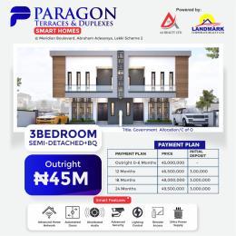 3 bedroom Semi Detached Duplex House for sale Meridian Boulevard By Abraham Adesanya Okun Ajah Ajah Lagos