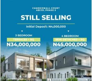 3 bedroom Terraced Duplex House for sale Camberwall Court, Inside Abijo GRA Abijo Ajah Lagos