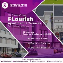3 bedroom Terraced Duplex House for sale Flourish Residences, Orchid Road, By Chevron Toll Gate Ikota Lekki Lagos