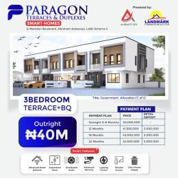 3 bedroom Terraced Duplex House for sale Meridian Boulevard By Abraham Adesanya Okun Ajah Ajah Lagos