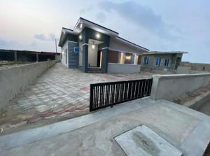 3 bedroom Detached Bungalow House for sale Just 5mins drive off the major road Ibeju-Lekki Lagos