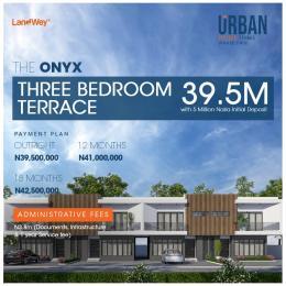 3 bedroom Terraced Duplex House for sale The Onyx, Along Abraham Adesanya Road Ogombo Ajah Lagos
