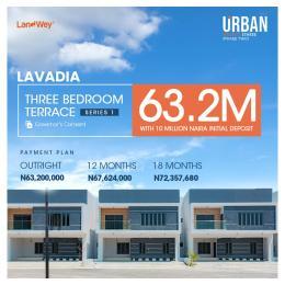 3 bedroom Terraced Duplex for sale Urban Prime Three (phase2) Abraham adesanya estate Ajah Lagos