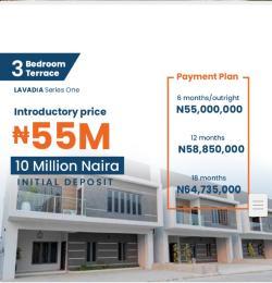 3 bedroom Terraced Duplex House for sale Urban Prime Three (Phase2) Abraham adesanya estate Ajah Lagos