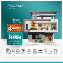 4 bedroom Detached Duplex House for sale Atlantic Layout Estate, Before LBS Abraham adesanya estate Ajah Lagos