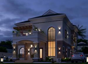 4 bedroom Detached Duplex House for sale Amen Estate Development, Eleko Beach Road, Lekki Epe Expressway, Ibeju Lekki Lagos, Nigeria Eleko Ibeju-Lekki Lagos