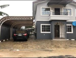 4 bedroom Detached Duplex House for sale Akpajo, inside an Estate  Port Harcourt Rivers