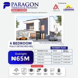 4 bedroom Detached Duplex for sale Meridian Boulevard Estate By Abraham Adesanya Okun Ajah Ajah Lagos