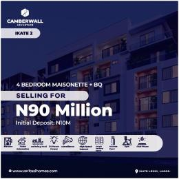 4 bedroom Massionette House for sale Ikate Lekki Lagos