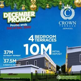 4 bedroom Terraced Duplex House for sale Crown Terrace, Vintage Estate Close To Novare Shoprite Sangotedo Ajah Lagos