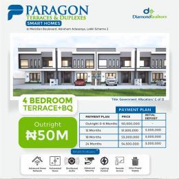 4 bedroom Terraced Duplex for sale Ogombo Abraham adesanya estate Ajah Lagos
