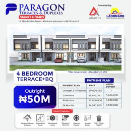 4 bedroom Terraced Duplex for sale Meridian Boulevard Estate By Abraham Adesanya Okun Ajah Ajah Lagos