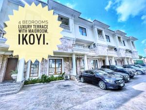 5 bedroom Terraced Duplex for rent MacPherson Ikoyi Lagos