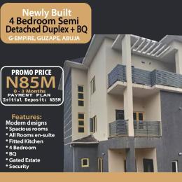 4 bedroom Semi Detached Duplex for sale G Empire Garden Close To Asoroko. Guzape Abuja