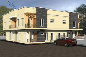 5 bedroom Semi Detached Duplex House for sale Estate 13 Mowe Obafemi Owode Ogun