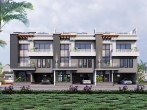 5 bedroom Terraced Duplex for sale Elegushi Ikate Lekki Lagos