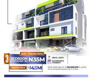 3 bedroom Penthouse Flat / Apartment for sale Abijo Ibeju-Lekki Lagos