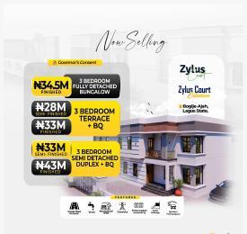 3 bedroom Semi Detached Duplex for sale Zylus Court, Opposite Beechwood Estate, Bogije Lekki Ajah Lagos