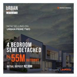 4 bedroom Semi Detached Duplex House for sale Urban Prime Two Off Lekki-Epe Expressway Ajah Lagos