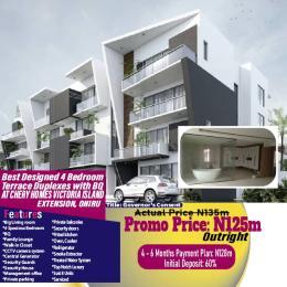 4 bedroom Terraced Duplex House for sale Chery Homes, Oniru, Vi Extension ONIRU Victoria Island Lagos