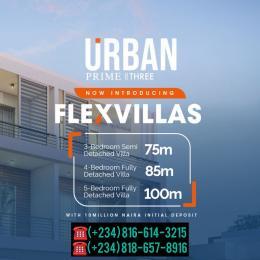 5 bedroom Detached Duplex for sale Urban Prime 3 Flex Villas, Ogombo Road Abraham adesanya estate Ajah Lagos