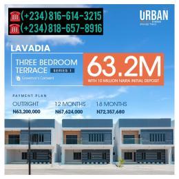 3 bedroom Terraced Duplex for sale Urban Prime 3 Lavadia Ogombo Road Abraham adesanya estate Ajah Lagos