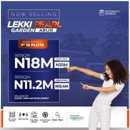 Residential Land for sale Behind Amity Estate And 1mins Drive From Lekki Expressway Abijo Ajah Lagos