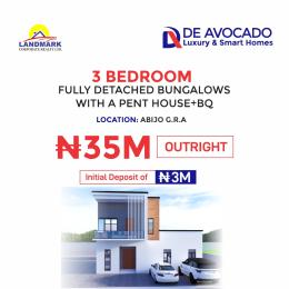3 bedroom Detached Bungalow House for sale De Avocado Smart Homes, Abijo GRA Abijo Ajah Lagos