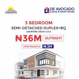 3 bedroom Semi Detached Duplex House for sale De Avocado Smart Homes, Abijo GRA Abijo Ajah Lagos