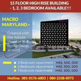 2 bedroom Flat / Apartment for sale Ikorodu road  LSDPC Maryland Estate Maryland Lagos