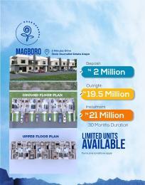 4 bedroom Terraced Duplex House for sale Magboro Obafemi Owode Ogun