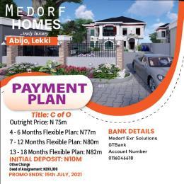 Detached Duplex House for sale Green Park Scheme Estate/Abijo Abijo Ajah Lagos