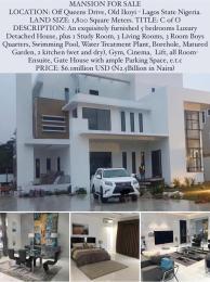 6 bedroom Massionette for sale Old Ikoyi Ikoyi Lagos