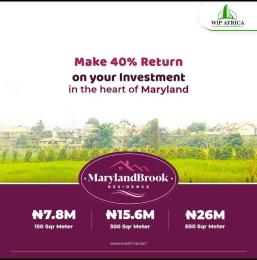 Residential Land Land for sale Maryland Brooks Estate Mende Maryland Lagos