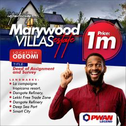 Mixed   Use Land for sale Odeomi Free Trade Zone Ibeju-Lekki Lagos