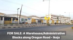 10 bedroom Warehouse Commercial Property for rent Along Oregun Road. Alausa Ikeja Lagos