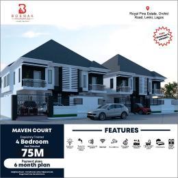 4 bedroom Semi Detached Duplex House for sale Royal pine estate, Orchid road, Lagos. Lekki Lagos