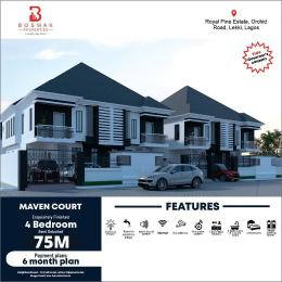 5 bedroom Semi Detached Duplex House for sale Royal pine Estate, Orchid road, lagos chevron Lekki Lagos