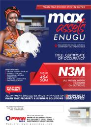 Mixed   Use Land Land for sale AGU-AMORJI NIKE ENUGU EAST LOCAL GOVERNMENT AREA, ENUGU STATE.  Enugu Enugu