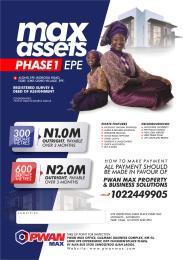 Land for sale Along Epe Ikorodu Road, Egbe Epe Lagos
