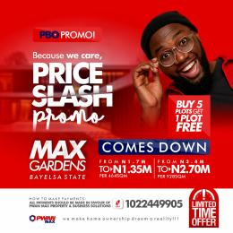 Mixed   Use Land Land for sale Along The New Duel Carriage Road That Lead To Federal University Of Bayelsa State Brass Bayelsa