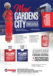 Mixed   Use Land Land for sale Mgbarakuma Ubakala, along Old Ntigha/Ubakala tarred road Umuahia South Abia