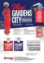 Land for sale Umuahia North Abia