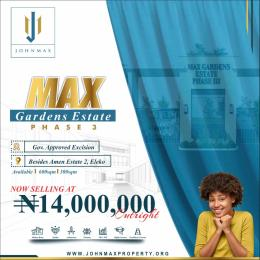 Residential Land for sale Behind Amen Estate Phase2 Eleko Ibeju-Lekki Lagos