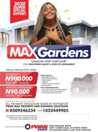 Mixed   Use Land for sale Omagwa Ikwerre Rivers