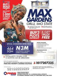 Serviced Residential Land Land for sale Orlu Imo