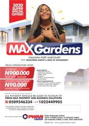Residential Land Land for sale Eleme Port Harcourt Rivers