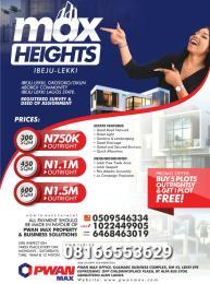 Serviced Residential Land Land for sale Ikegun Ibeju-Lekki Lagos