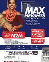 Mixed   Use Land for sale Ndukabi Igbeagu Izzi Abakaliki Ebonyi
