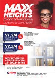 Land for sale Owode Ise Ibeju-Lekki Lagos